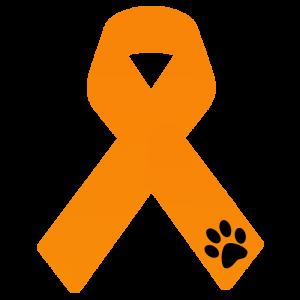 Lazo naranja contra el maltraro y la crueldad animal